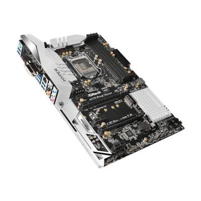 Les condensateurs Nichicon 12K Platinum utilisés par ASRock offrent une durée de vie exceptionnelle et assurent une meilleure fiabilité et une stabilité optimale. ASRock utilise un PCB haute densité amélioré qui réduit les risques de chocs électriques cau
