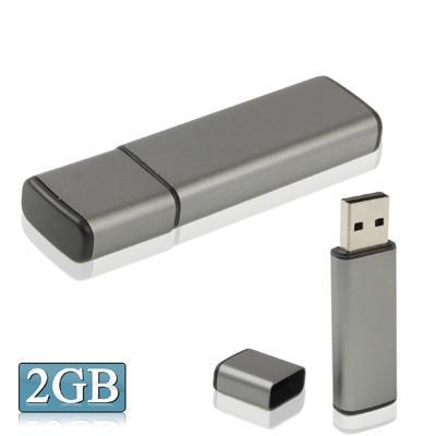 Business Series USB 2.0 Clé Clef USB, gris (2GB)