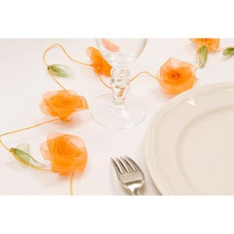 guirlande rose organza orange achat prix fnac. Black Bedroom Furniture Sets. Home Design Ideas