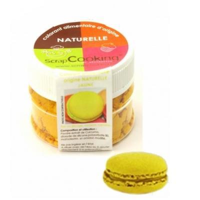 Image du produit Scrapcooking Colorant alimentaire naturel jaune 4202