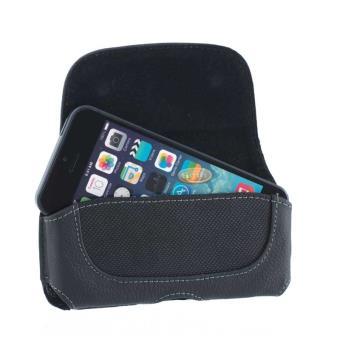 etui ceinture cuir noir pour iphone se achat prix fnac. Black Bedroom Furniture Sets. Home Design Ideas