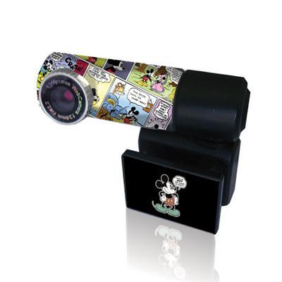 Webcam USB. Connexion en USB Résolution : 1,3 Mpx Compatible Windows 98/2000/Me/XP/Vista