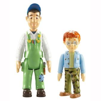 Sam le pompier pack 2 figurines nicolas max caro - Sam le pompier personnages ...