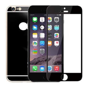 Film cran iphone 6 6s verre tremp miroir avant arri re for Miroir noir film