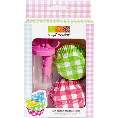 Image du produit ScrapCooking® - Kit seringue à pâtisserie