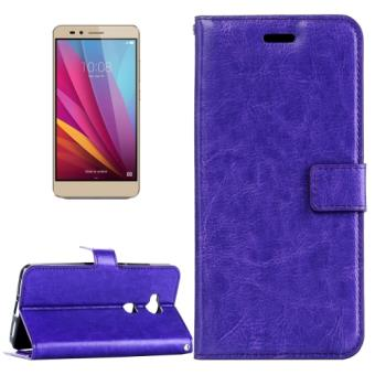 Huawei honor 5x housse etui cuir pu violet texture peau for Housse honor 5x