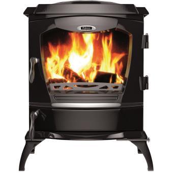 poele bois falcon reginald noir mat achat prix fnac. Black Bedroom Furniture Sets. Home Design Ideas