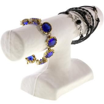 porte bijoux jonc pour ranger ou exposer ses bracelets carton blanc achat prix fnac. Black Bedroom Furniture Sets. Home Design Ideas