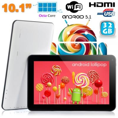 Cette tablette tactile 10 pouces sera l´équilibre parfait entre le choix de la puissance et de l´ergonomie. Equipée du système Android Lollipop, elle utilise la puissance d´Android pour vous permettre de profiter au mieux de toutes ses fonctions. Cette ta