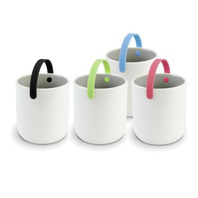 Image du produit Cookut - mug à thé céramique avec anse x 4 promenade