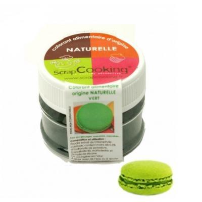 Image du produit Scrapcooking Colorant alimentaire naturel vert 4201