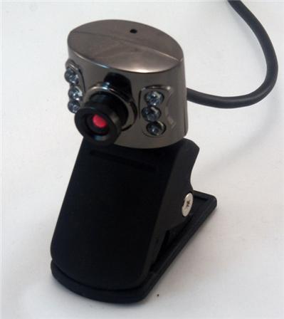 Video Camera USB 1,3 Mega Pixel, se fixe très facilement sur les écrans plats comme sur les PC portables, très stable également sur les surfaces plates. Sensor CMOS 1.3 Mega pixels Large capture d´image : 1280 x 960 Mode vidéo : RGB24 / I420 Interface : U