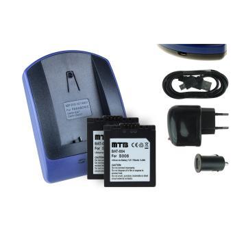 2 batteries chargeur usb cga s006 pour panasonic lumix - Batterie panasonic lumix dmc fz18 ...