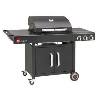 Landmann 12745 barbecue gaz avec 2 br leurs infrarouge 1 br leur lat ral - Barbecue infrarouge gaz ...