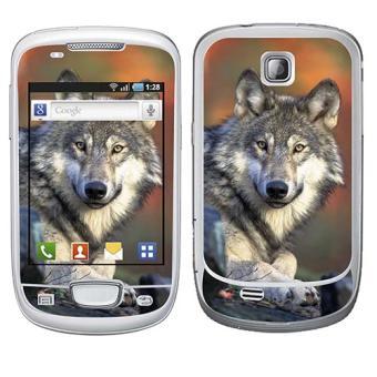skin stickers pour samsung mini sticker wolf achat prix fnac. Black Bedroom Furniture Sets. Home Design Ideas