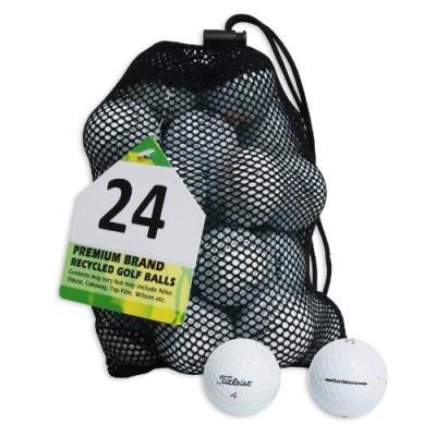 Second Chance Titleist 24 Balles De Golf De Récupération Qualité Supérieure Grade B pour 35€