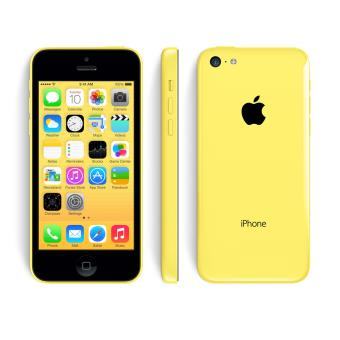apple iphone 5c 16 go jaune bloqu sfr achat prix. Black Bedroom Furniture Sets. Home Design Ideas