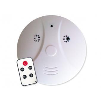 d tecteur de fum e factice d tecteur de mouvement 4go camera espion surveillance mini discrete. Black Bedroom Furniture Sets. Home Design Ideas