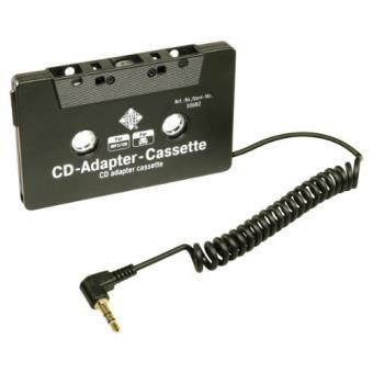 telefunken 55682 adaptateur cassette pour lecteurs cd mp3 fiche jack 3 5 mm achat prix. Black Bedroom Furniture Sets. Home Design Ideas