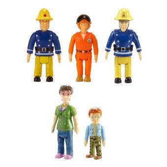 Sam le pompier figurines pack de 5 achat prix fnac - Sam le pompier personnages ...