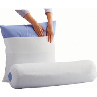 sous taie de traversin molleton skydda o ekosom 140 cm. Black Bedroom Furniture Sets. Home Design Ideas