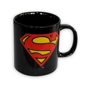 tasse superman xxl logo noire en c ramique capacit 750ml avec emballage cadeau top prix fnac. Black Bedroom Furniture Sets. Home Design Ideas