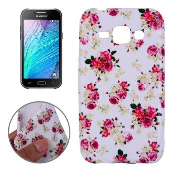 flower coque de protection pour samsung galaxy j1 achat. Black Bedroom Furniture Sets. Home Design Ideas