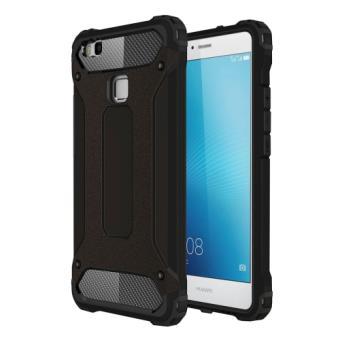 Huawei p9 lite coque housse plastique noir combinaison for Housse huawei p9 lite