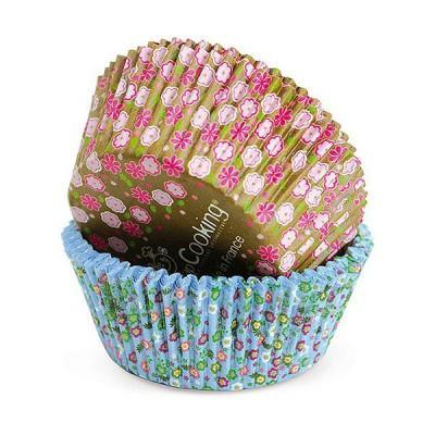 Image du produit ScrapCooking® - Moule en papier décoratif - Caissettes papier cupcakes : Liberty