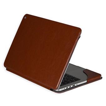 mp La housse etui Gecko Covers Luxe Standcase brun pour le MacBook Pro Retina  Tablette w