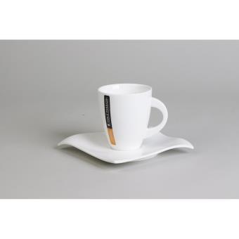 table passion tasse sous tasse cafe 11cl vague lot de 6 achat prix fnac. Black Bedroom Furniture Sets. Home Design Ideas