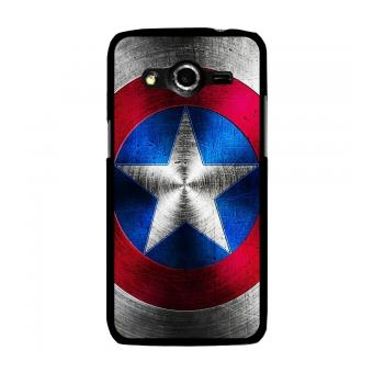 Coque rigide noire pour galaxy core 4g avec impression - Capitaine americain ...