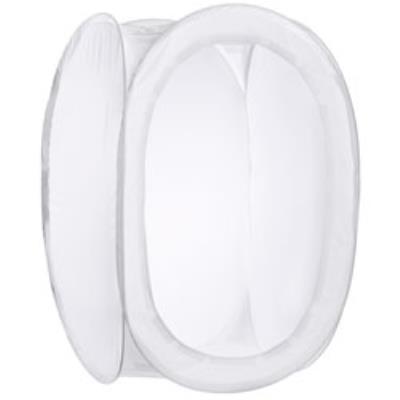 Walimex 18365. Largeur 600 mm, Profondeur 600 mm, Hauteur 900 mm Caractéristiques - Couleur Transparent, Blanc - Matériel Plastique - Largeur 600 mm - Profondeur 600 mm - Hauteur 900 mm - Poids 1 kg