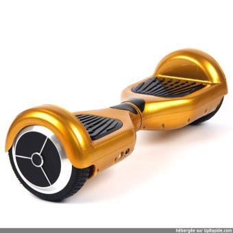 gyropode hoverboard skatus 6 5 enceintes bluetooth dore achat prix fnac. Black Bedroom Furniture Sets. Home Design Ideas