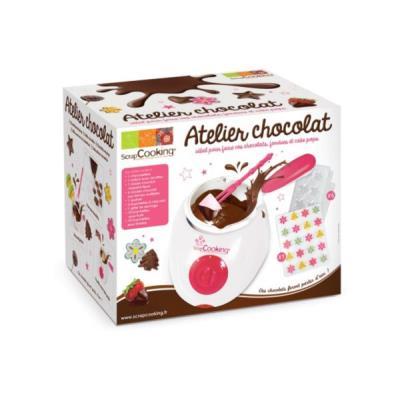 Image du produit Kit de préparation pâtisserie SCRAPCOOKING Atelier chocolat