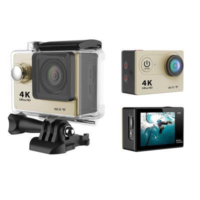 Caméra sport H9 Ultra HD 4K Le packaging de la cam EKEN H9 est particulièrement soigné tant au niveau esthétique que du contenu de la boite. En effet, la petite cam est livrée avec un ensemble daccessoire bien pratique que vous naurez pas besoin dacheter