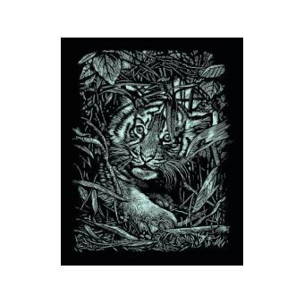 carte gratter argent e 21 x 31 cm b b tigre achat prix fnac. Black Bedroom Furniture Sets. Home Design Ideas