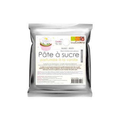 Image du produit Décoration culinaire SCRAPCOOKING blanche 300g goût vanillé