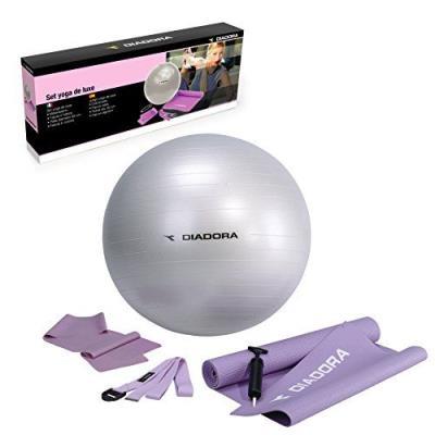 Diadora Set De Tapis De Sol Bande Élastique Ballon De Gym Bande Diamètre 65 Cm pour 37€