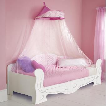 lit m ridienne ciel de lit minnie fille 90 x 200 achat prix fnac. Black Bedroom Furniture Sets. Home Design Ideas
