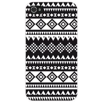 Coque rigide motif azt que noir et blanc pour iphone 5 5s achat au meilleur prix - Motif noir et blanc ...