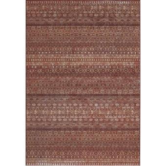tapis ethnique chic rouge sheeva 200x290 cm achat prix fnac. Black Bedroom Furniture Sets. Home Design Ideas