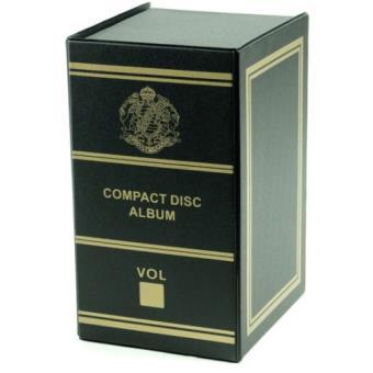 boite de rangement pour cd noir achat prix fnac. Black Bedroom Furniture Sets. Home Design Ideas