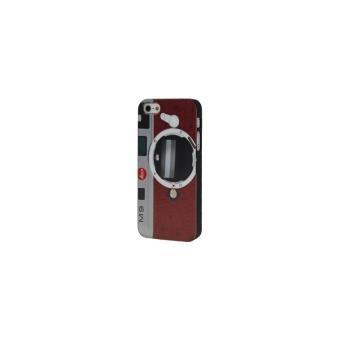 iphone 5 5s coque housse de protection plastique imitation appareil photo achat prix fnac. Black Bedroom Furniture Sets. Home Design Ideas