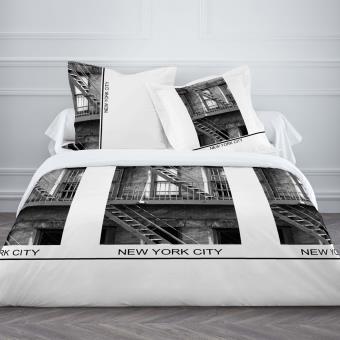 parure de lit usa 220 cm achat prix fnac. Black Bedroom Furniture Sets. Home Design Ideas
