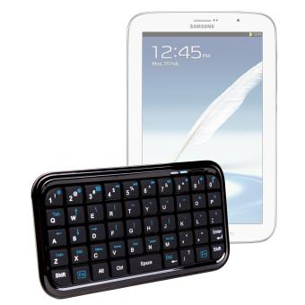 clavier mini bluetooth pour tablette samsung galaxy note 8. Black Bedroom Furniture Sets. Home Design Ideas