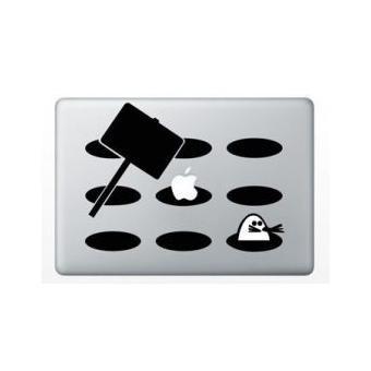 stickers macbook taupe macbook pro 13 4 pouces argent achat prix fnac. Black Bedroom Furniture Sets. Home Design Ideas