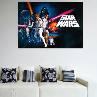poster xxl la guerre des etoiles star wars top prix fnac. Black Bedroom Furniture Sets. Home Design Ideas