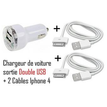 cabling kit chargeur pour apple iphone 4 g iphone 3g s ipod touch 4 ipod nano 5 ipod nano 6. Black Bedroom Furniture Sets. Home Design Ideas