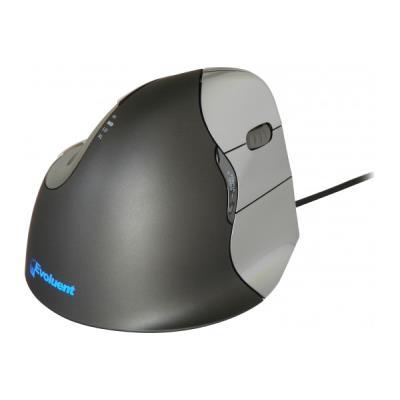 Souris verticale USB 6 boutons noire Mouse 4 - droitier La souris verticale évite les torsions de l´avant-bras pour un meilleur confort et une bonne santé. Elle permet d´adopter une posture neutre verticale qui évite généralement à l´avant-bras de se tord